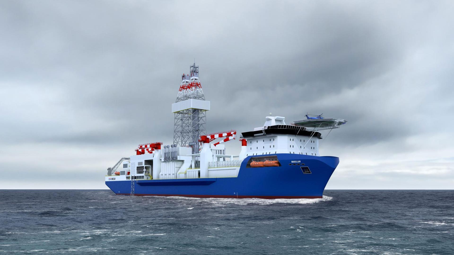 Magellan Drillship