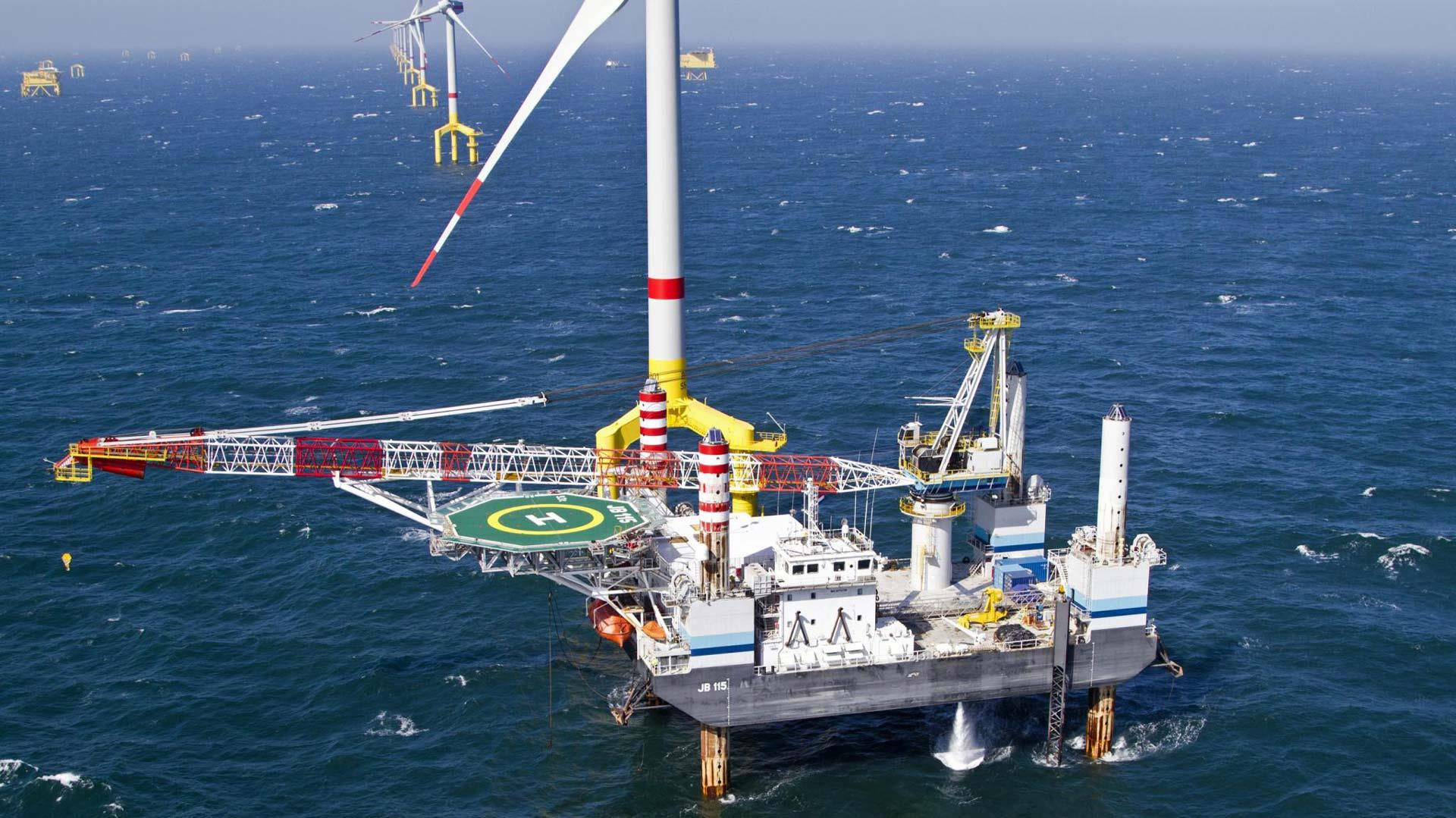SEA-2000 Skeyes Windmill installtion