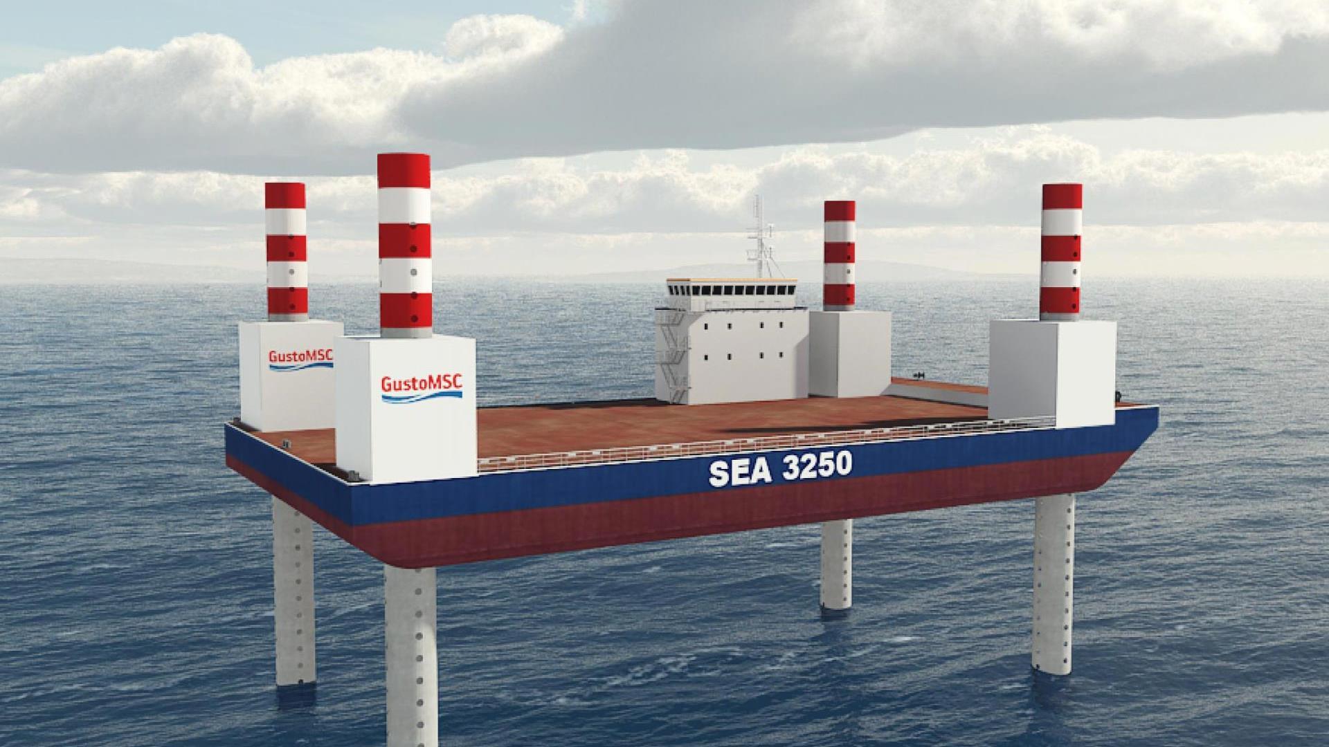 SEA-3250 Render Jacked