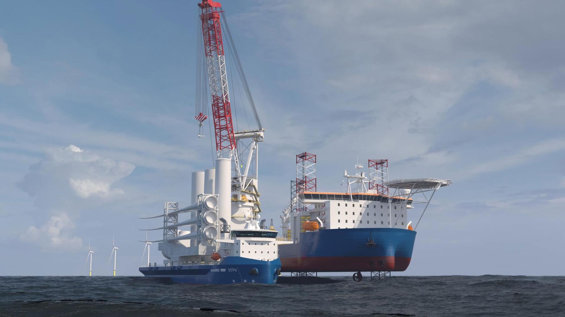STFV offshore windmill