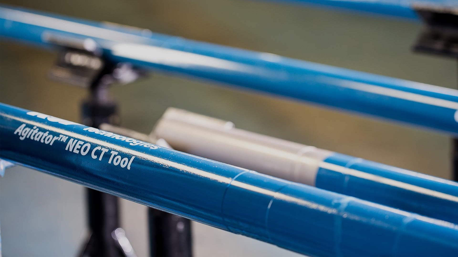 Close up of Agitator NEO Coiled Tubing Tool