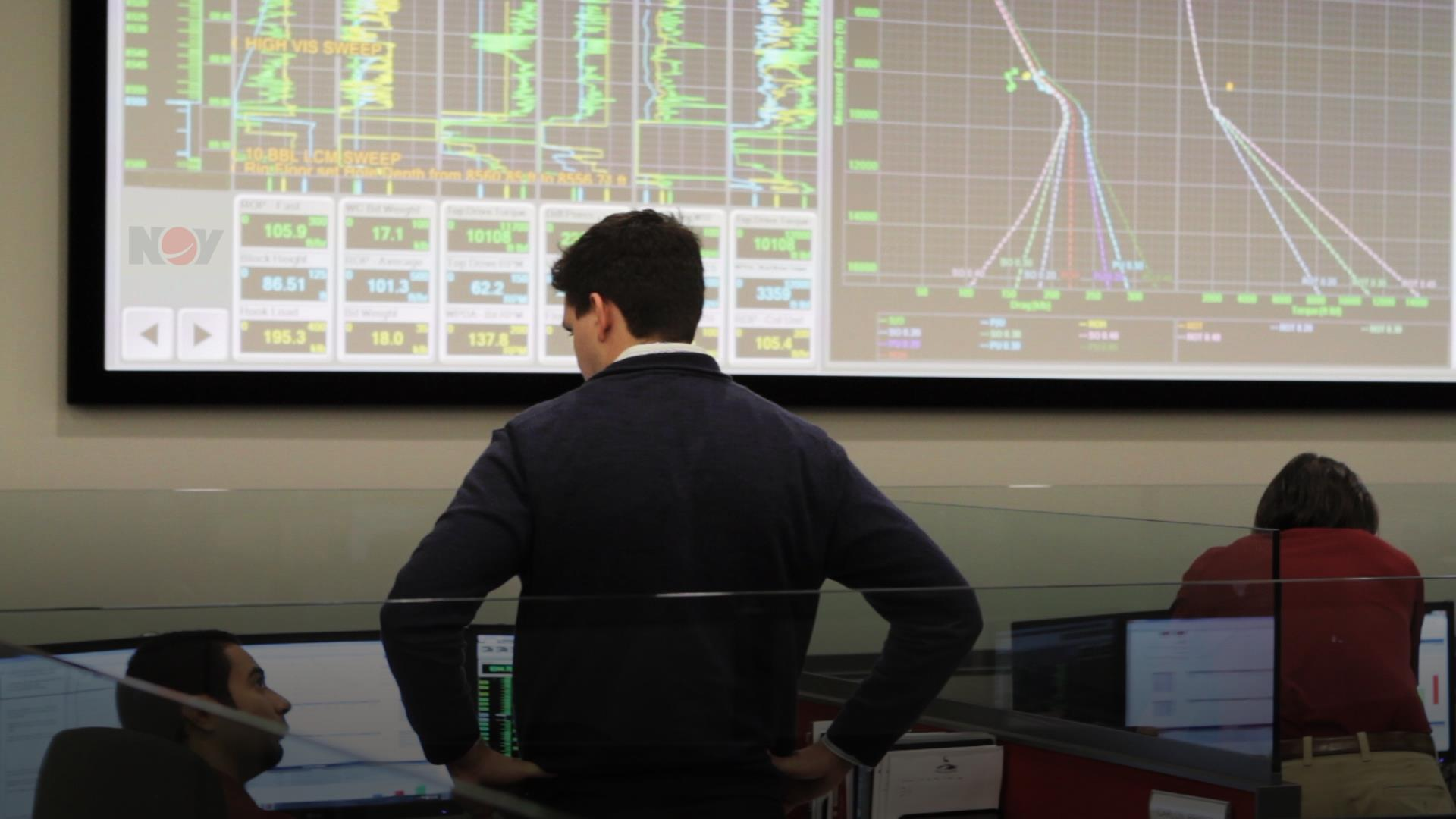 NOV Employees working in the real time technology center