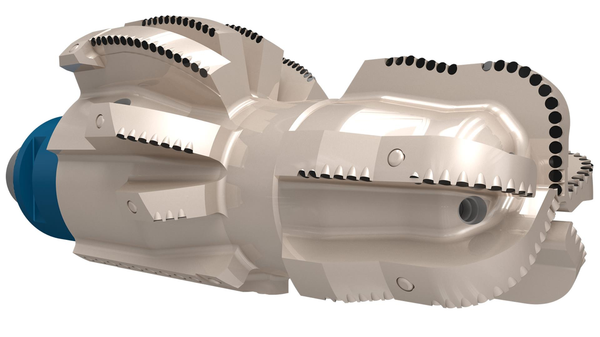 A render of a Tektonic Bi-Center Bit