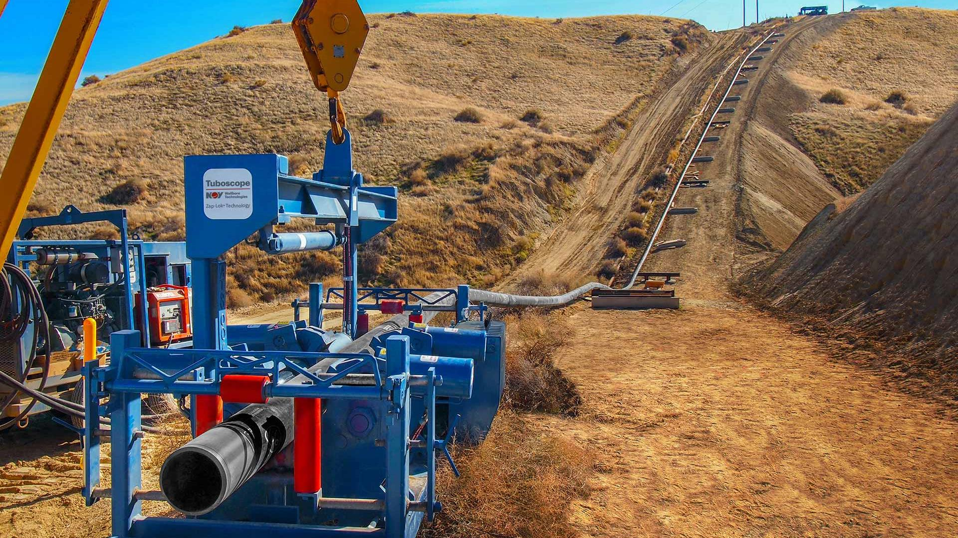 Image of a Zap-Lok installation in California.