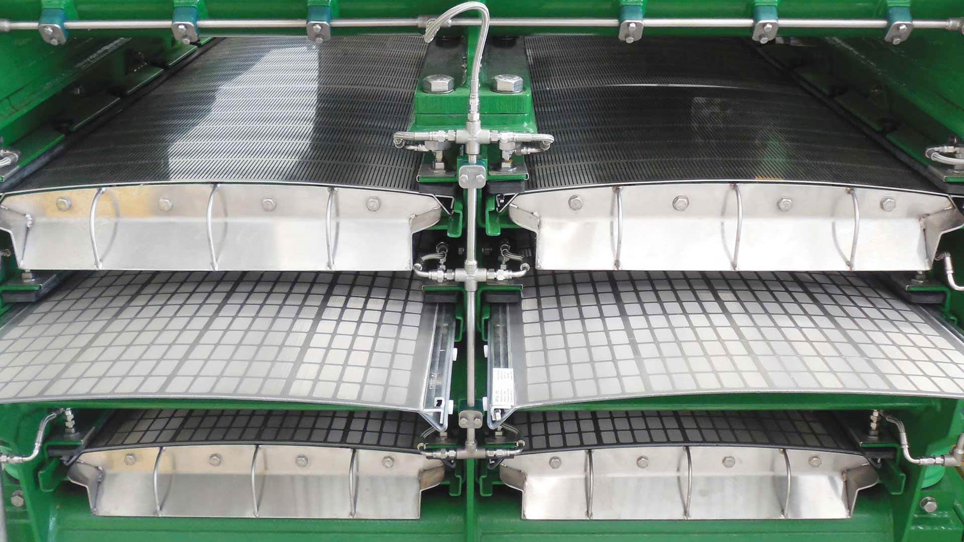 A front view of an AX Screening System