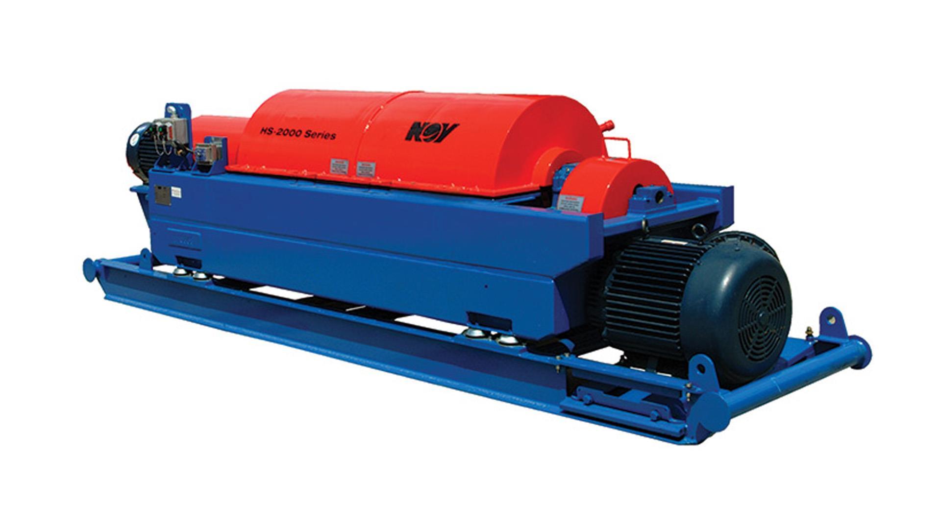 Render of HS 2000M Centrifuge