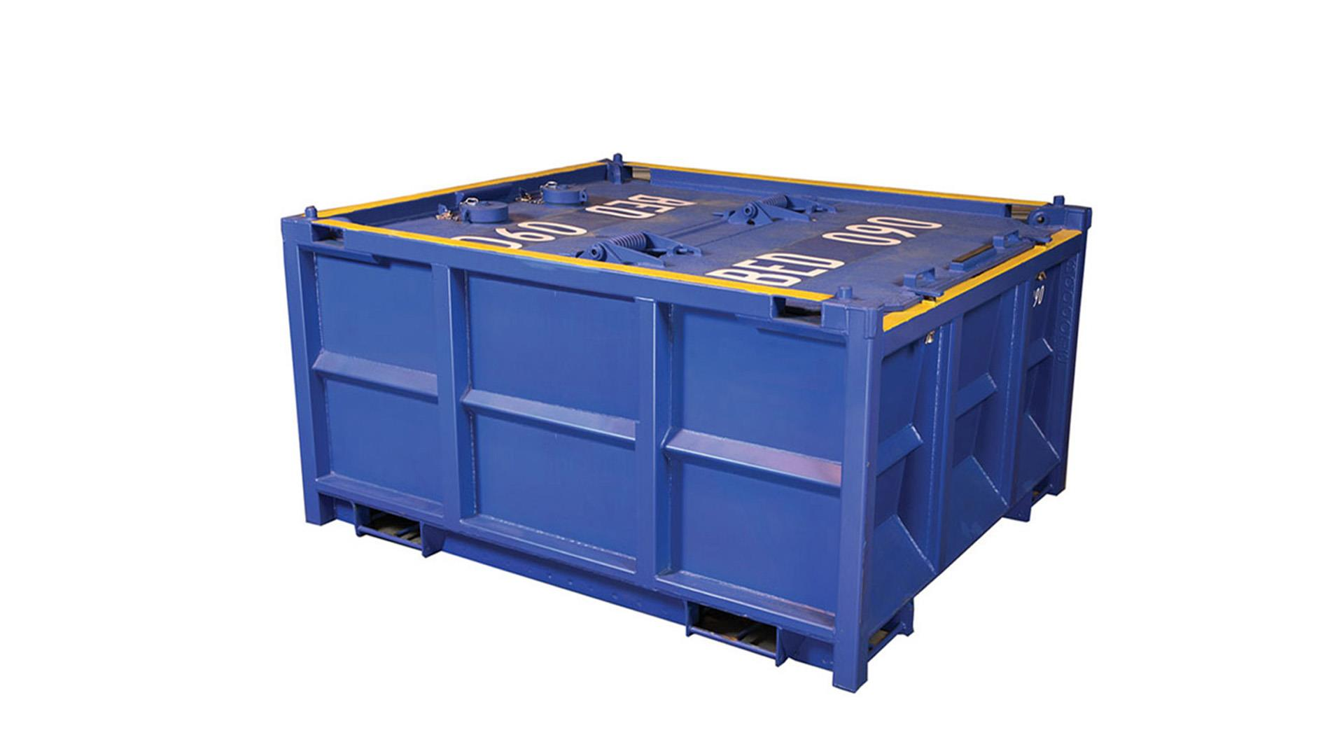 Render of low profile cuttings skips