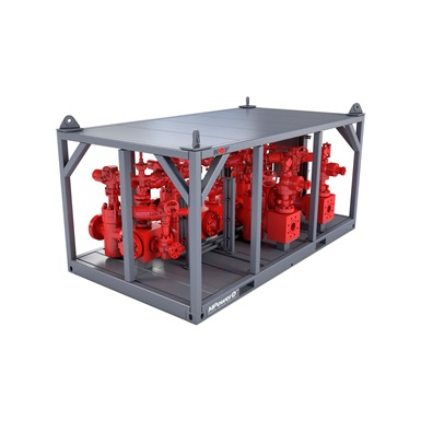 Render of Buffer Manifold