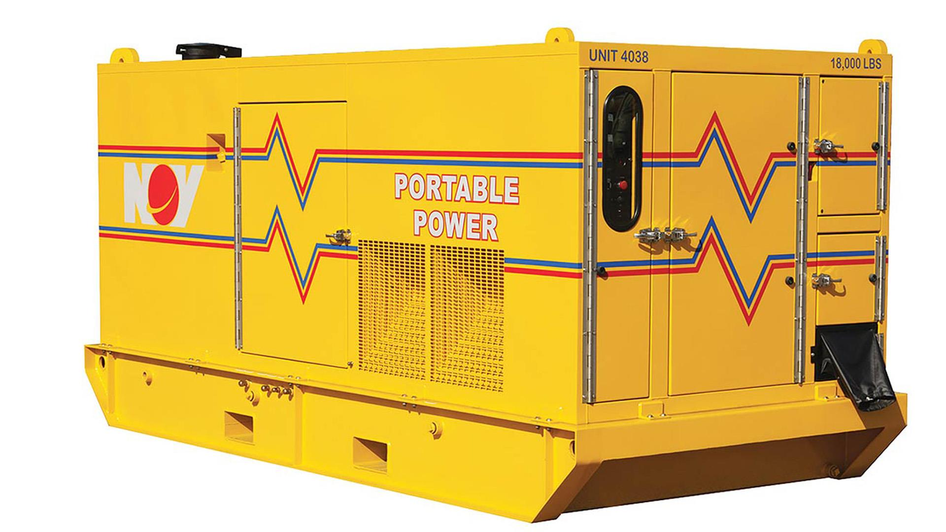 Render of Offshore Diesel Generators (US)