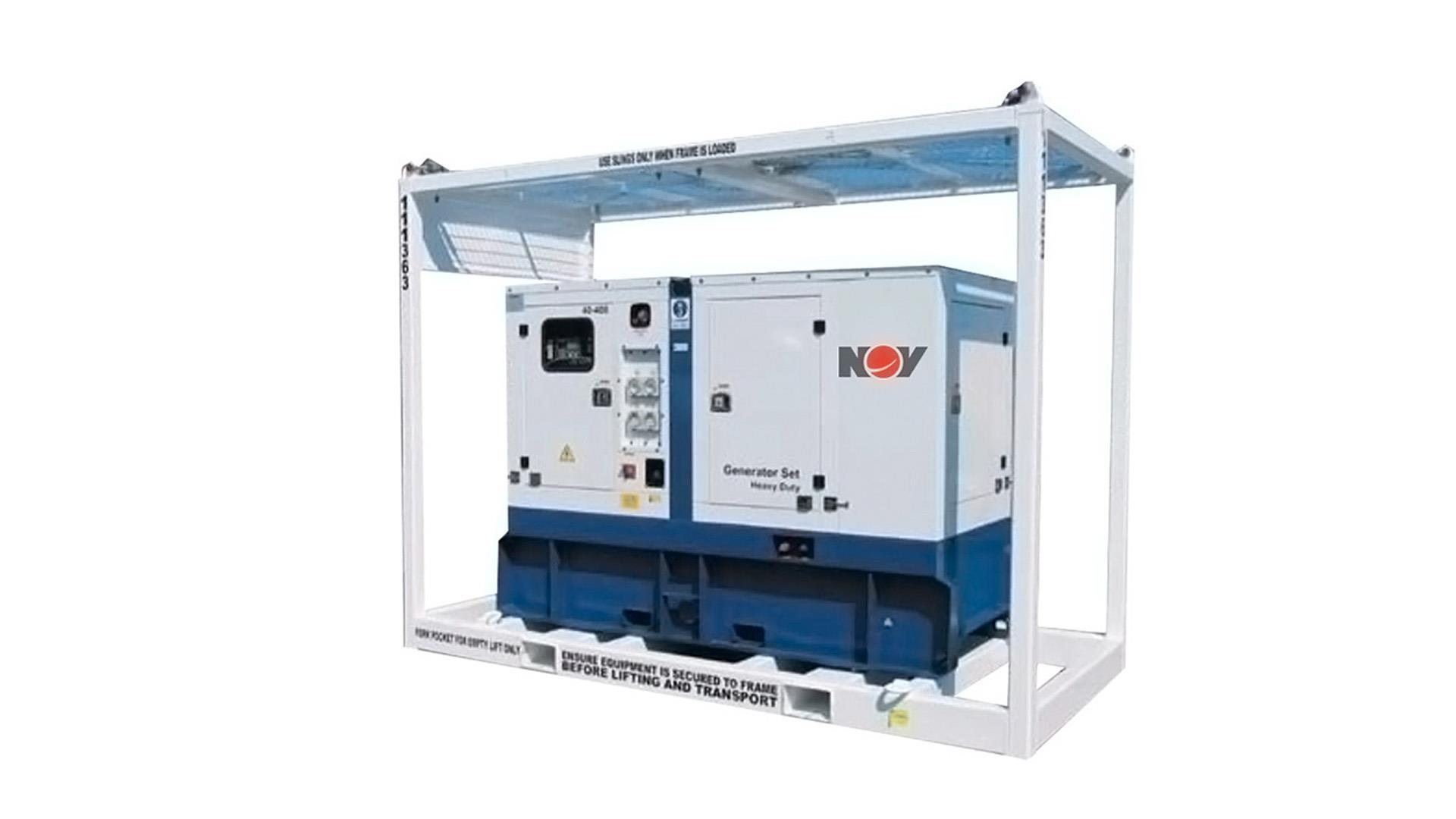 Render of Offshore Generator Sets AUS Pacific