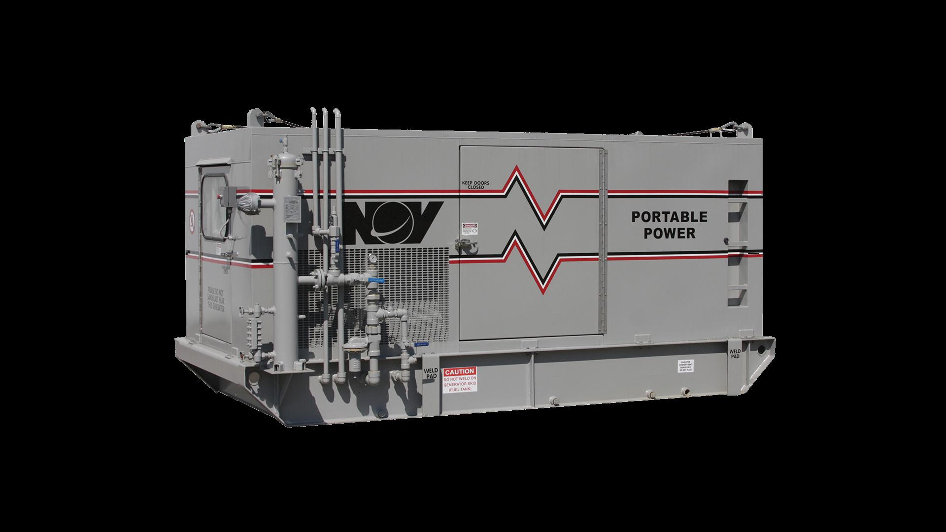 Render of  Offshore Natural  Gas Generators