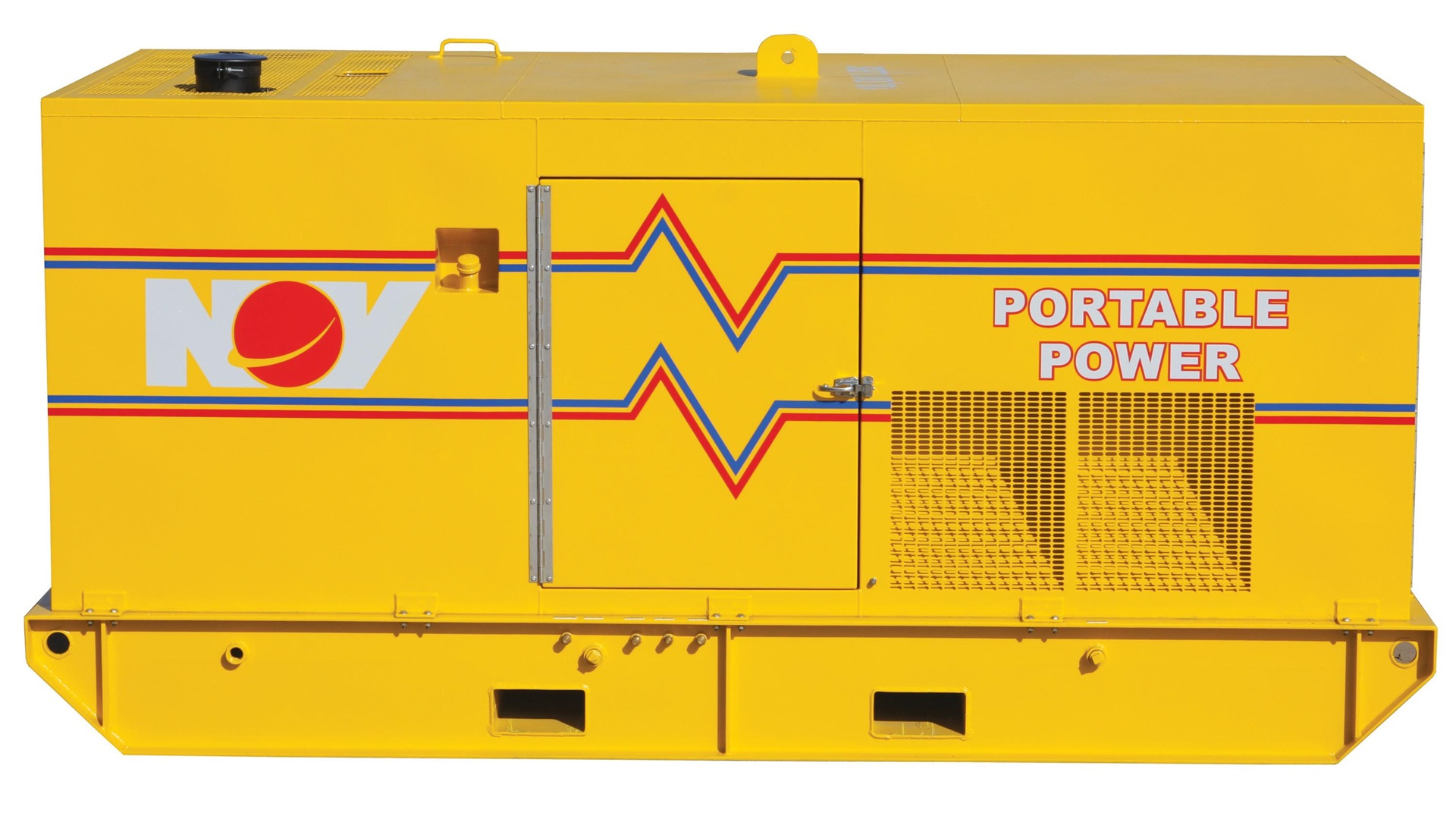 Render of Onshore and  Offshore Diesel Generators