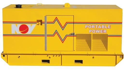 Render of Onshore and  Offshore Diesel Generators