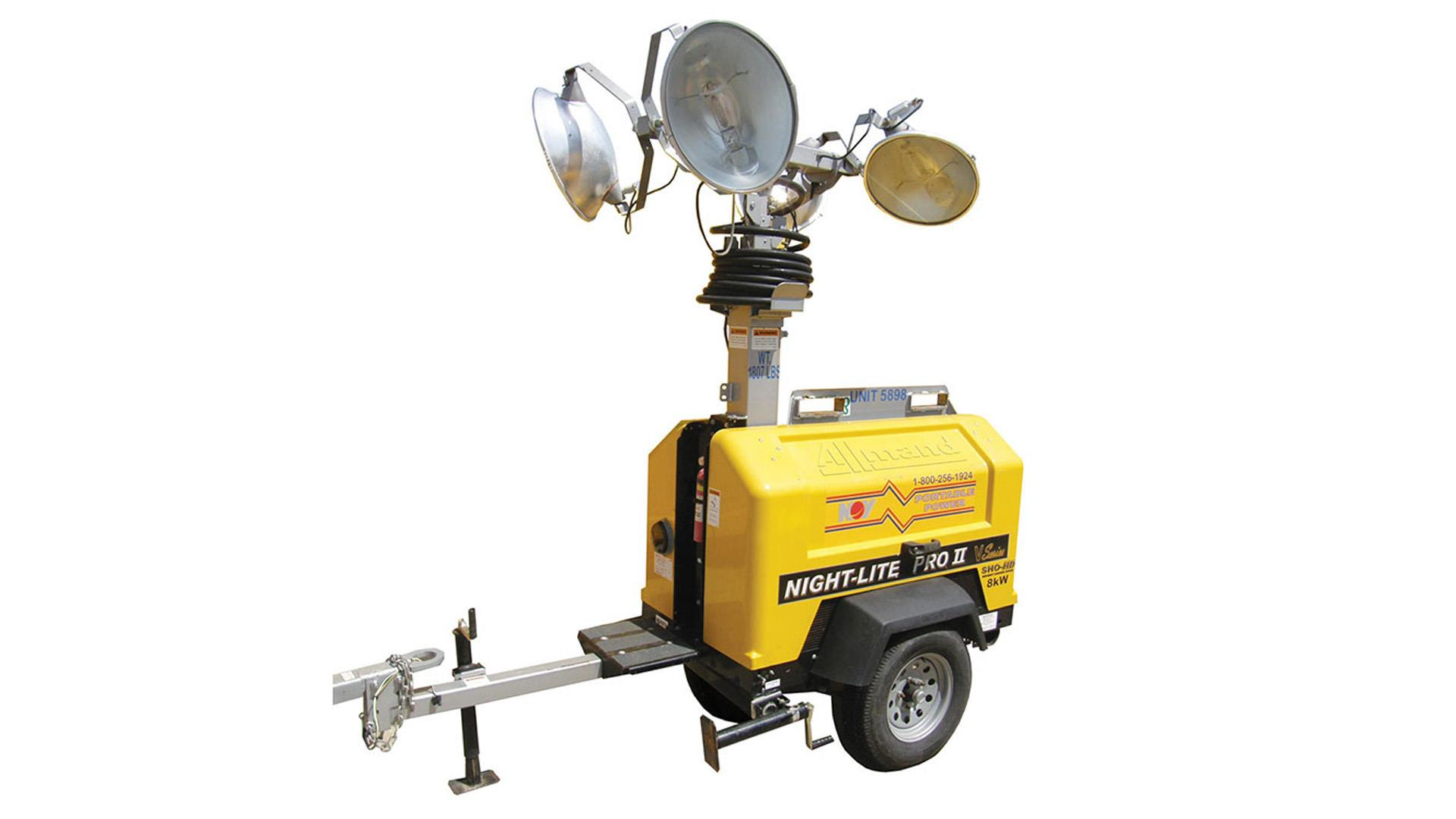 Render  of Portable Diesel  Light Towers