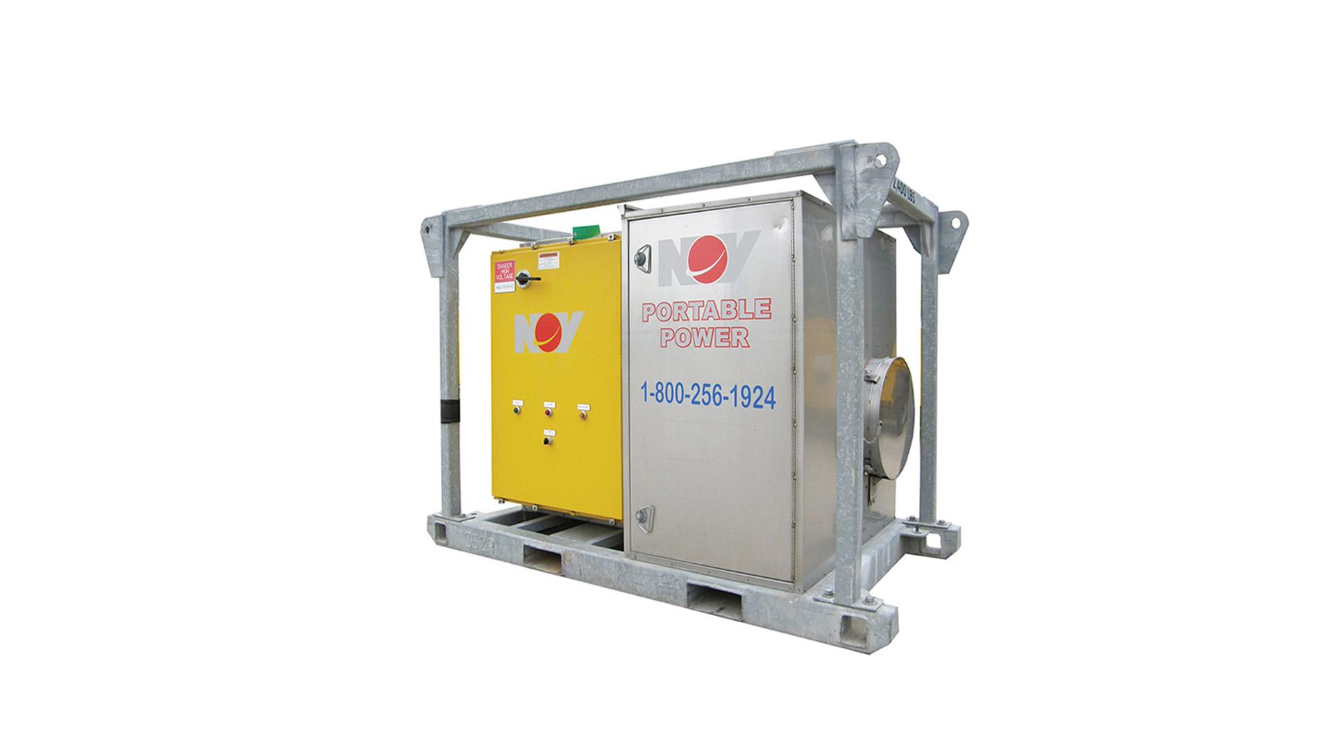 Render of Portable Heating Units US