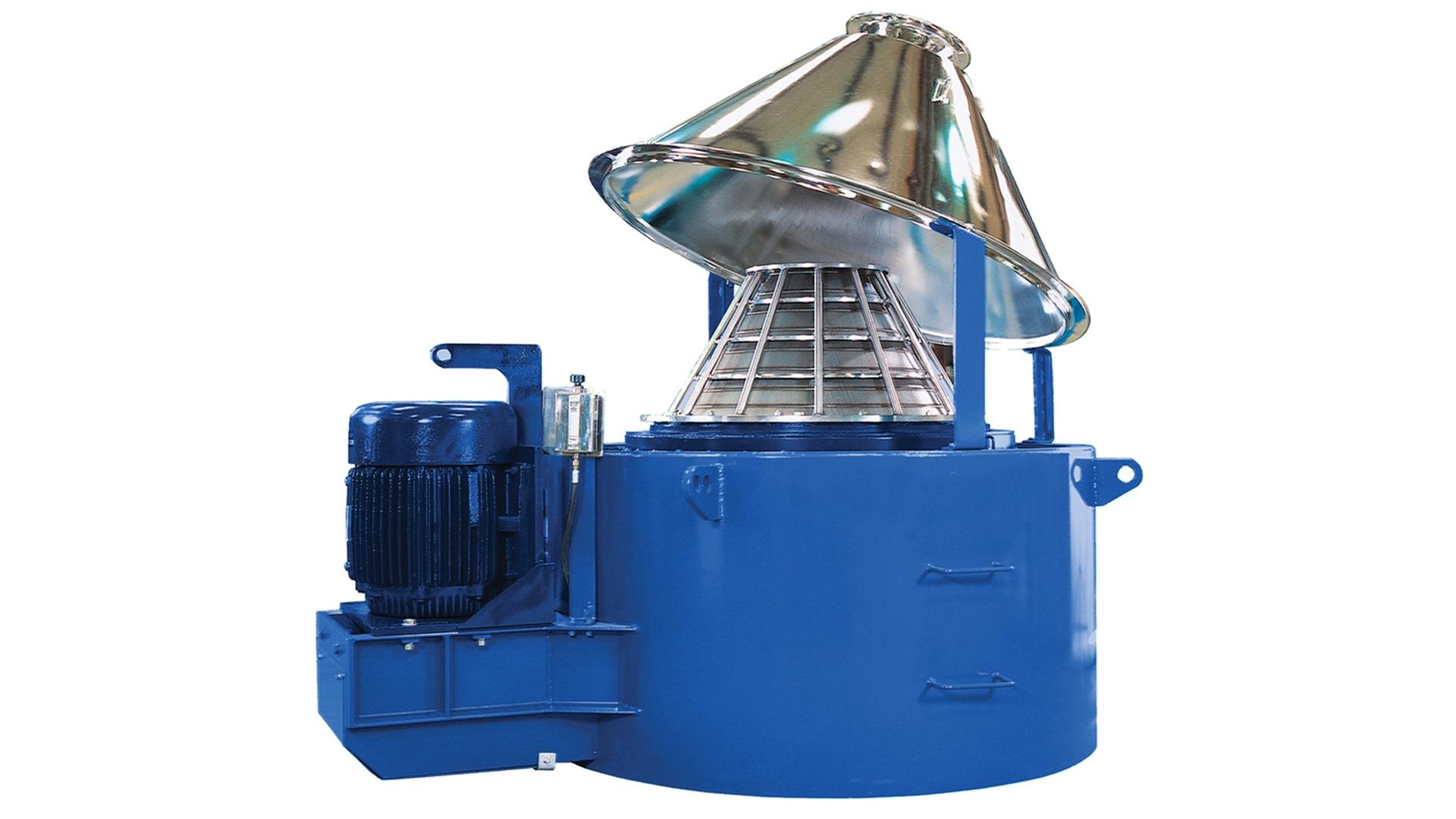 Render of VORTEX Dryer open