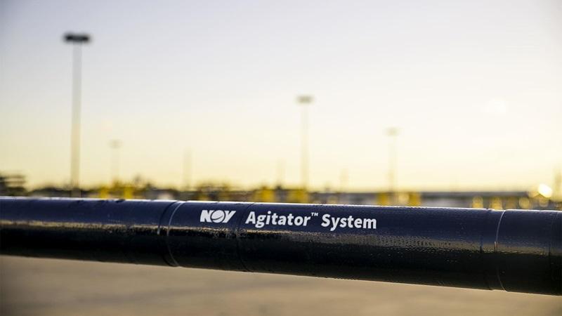 A closeup of an Agitator System